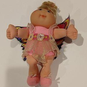 Mattel cabbage patch garden fairy dolls